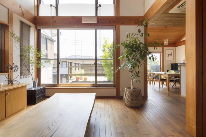 「無垢の木の家」15年目のモデルハウス☆_c0152341_14551488.jpg