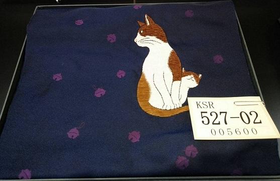 西陣まいづる新作猫名古屋帯とモデルさん・京都の河津桜。_f0181251_18010799.jpg