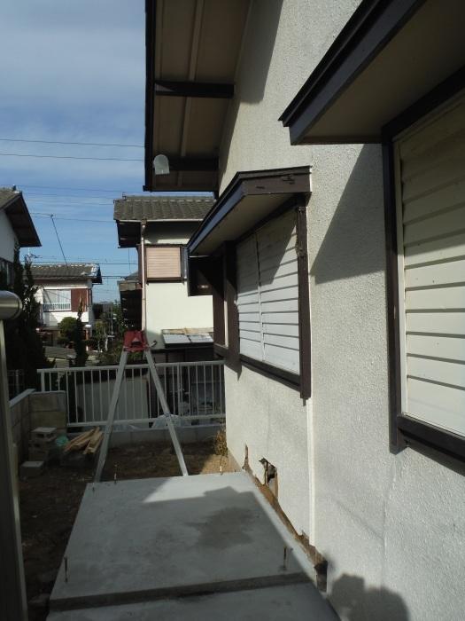 駐車場、屋根、玄関、室内 ~ 玄関増築。_d0165368_04404451.jpg