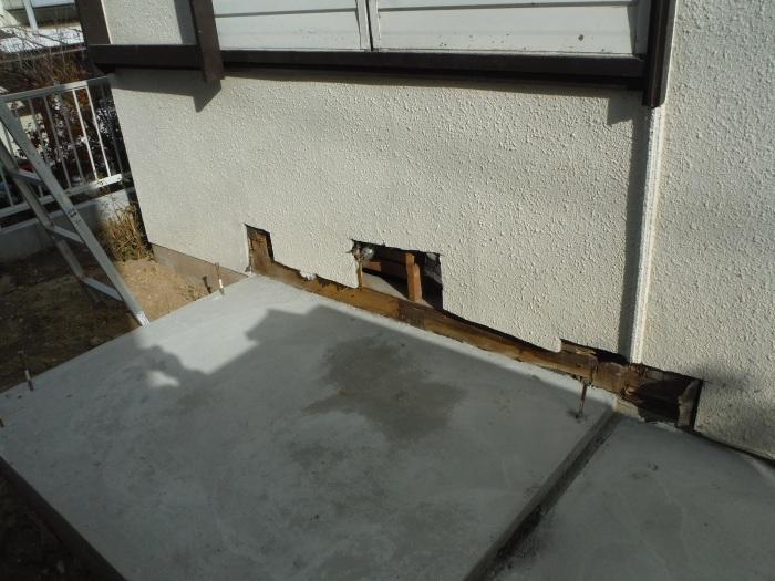 駐車場、屋根、玄関、室内 ~ 玄関増築。_d0165368_04405607.jpg