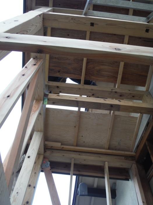 駐車場、屋根、玄関、室内 ~ 玄関増築。_d0165368_04423135.jpg