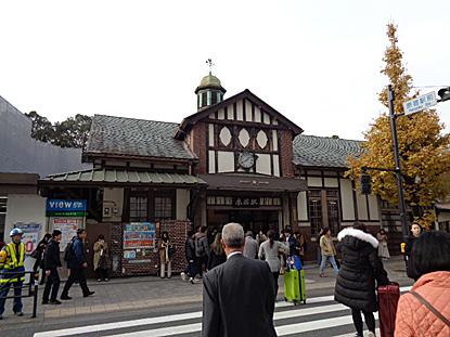 原宿駅舎_e0066586_07395372.jpg
