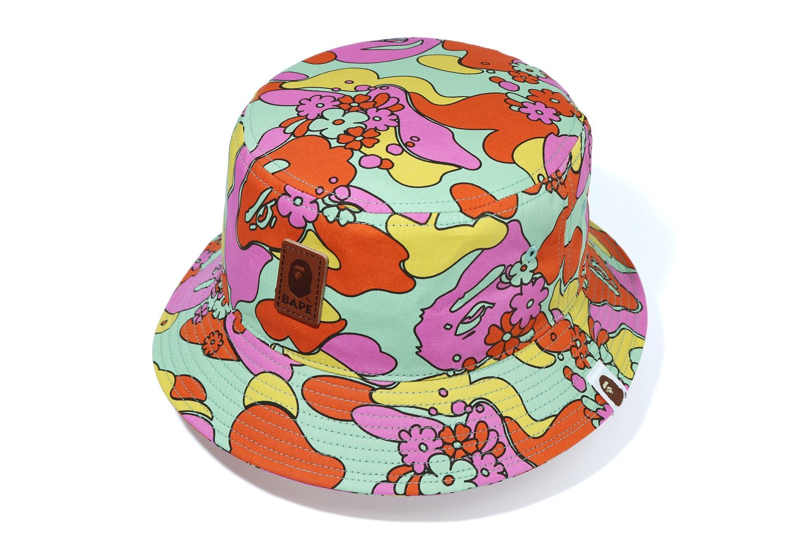ABC CAMO FLOWER BUCKET HAT_a0174495_11533955.jpg