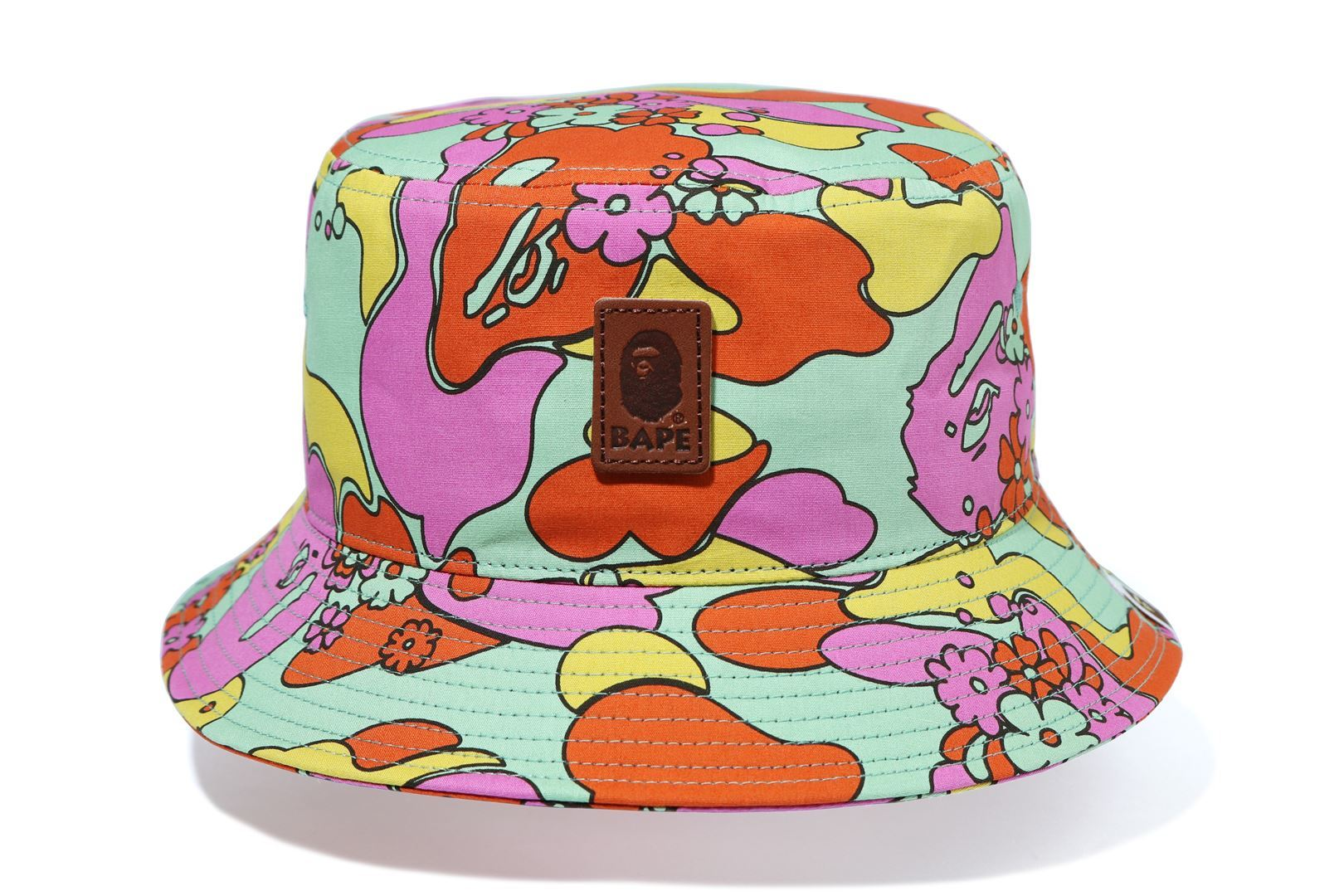 ABC CAMO FLOWER BUCKET HAT_a0174495_11534571.jpg