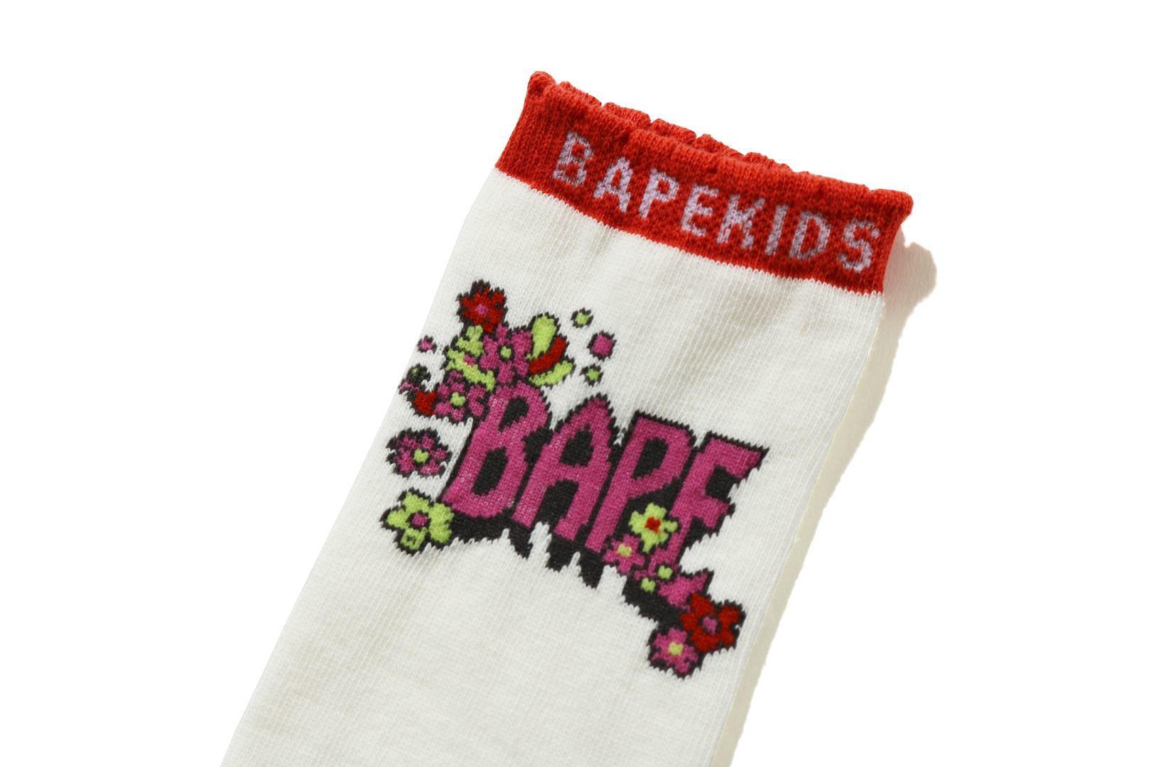 FLOWER BAPE® LONG SOCKS_a0174495_12300086.jpg