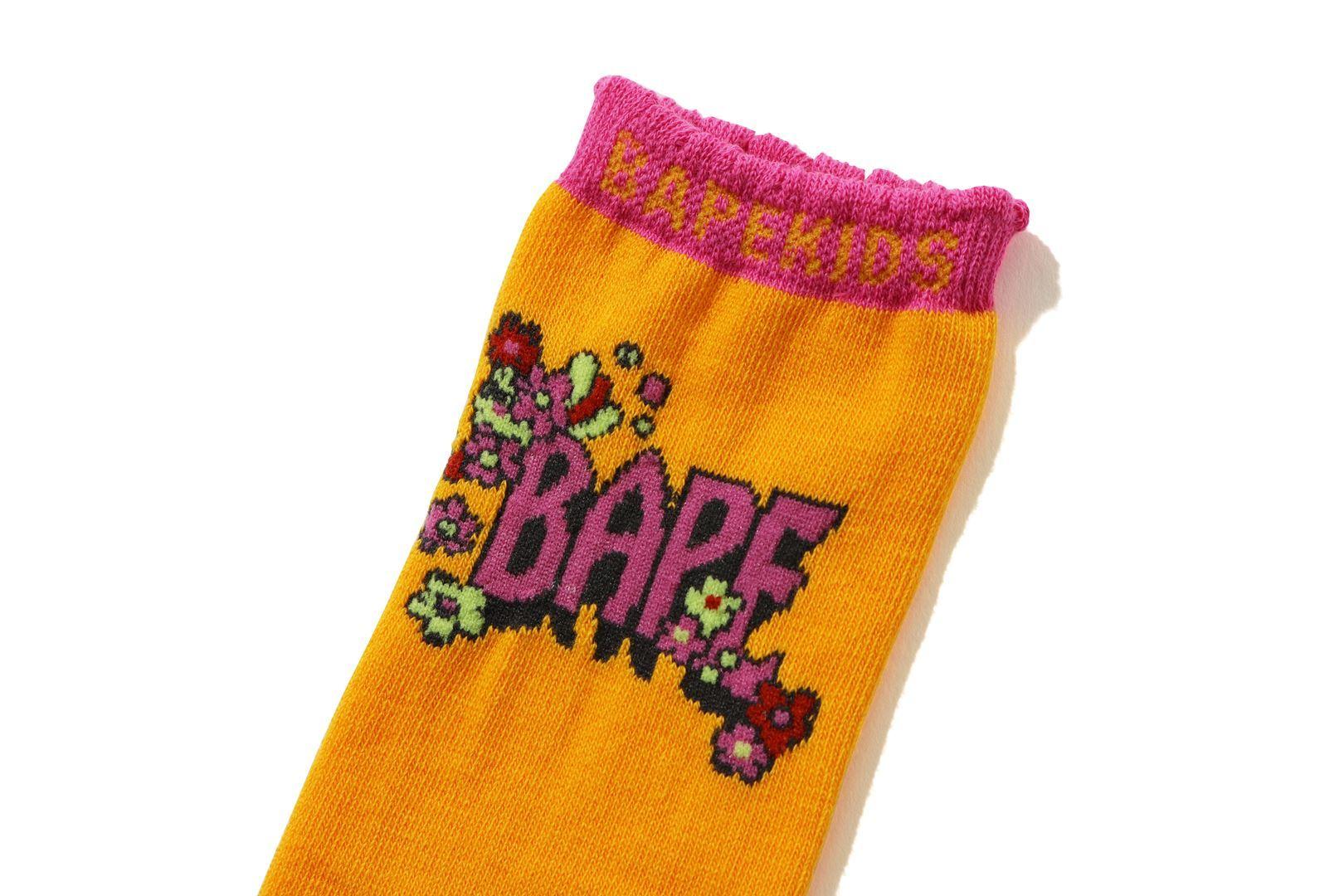 FLOWER BAPE® LONG SOCKS_a0174495_12301412.jpg