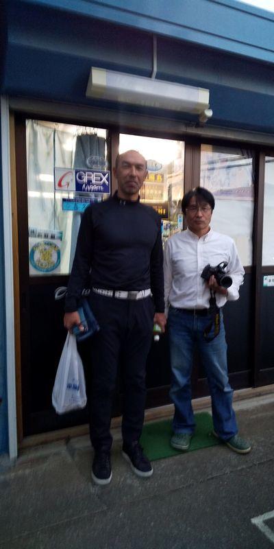 元プロ野球選手「和田一浩」さんご来店_f0365700_19353345.jpg