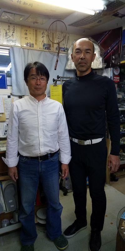 元プロ野球選手「和田一浩」さんご来店_f0365700_19355471.jpg