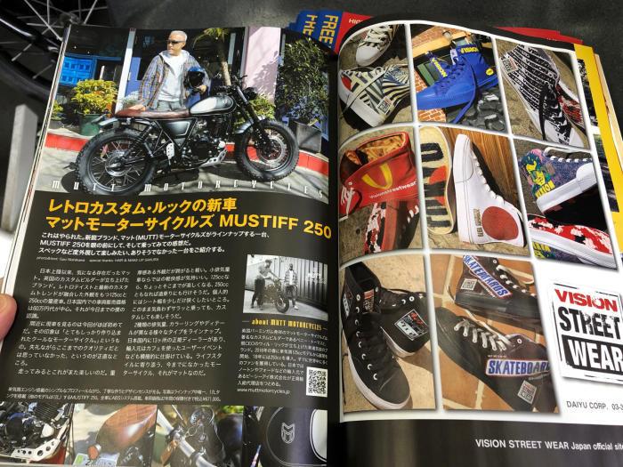 『 ONTHEROAD MAGAZINE Vol.62 』入荷_e0126901_12033674.jpg