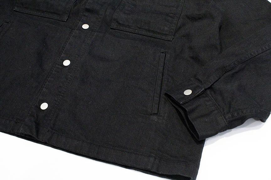 "COMFORTABLE REASON (コンフォータブルリーズン) \"" Black Denim Jacket \""_b0122806_13482022.jpg"