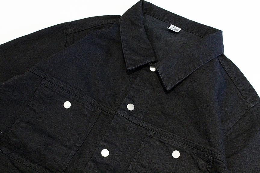 "COMFORTABLE REASON (コンフォータブルリーズン) \"" Black Denim Jacket \""_b0122806_14005314.jpg"