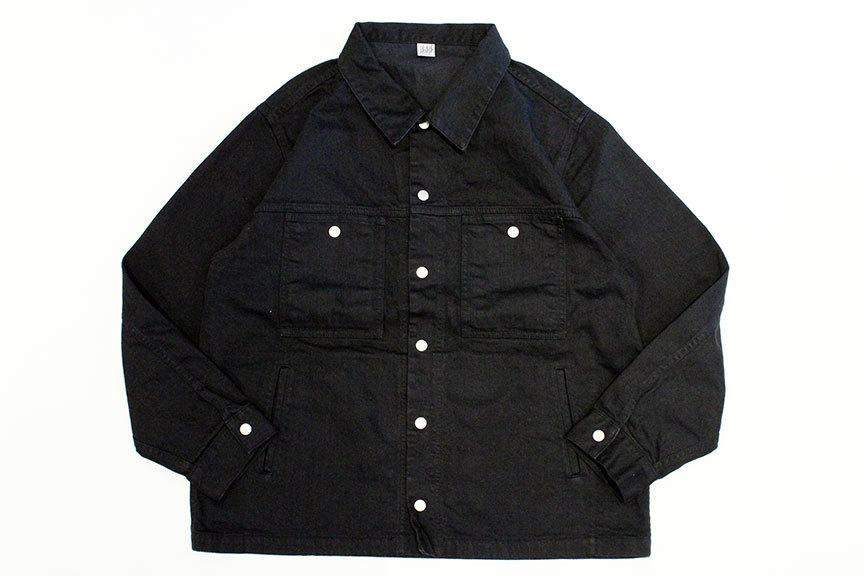 "COMFORTABLE REASON (コンフォータブルリーズン) \"" Black Denim Jacket \""_b0122806_14005773.jpg"