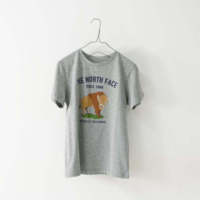 THE NORTH FACE [ザ ノースフェイス正規代理店] Ks S/S Graphic Animal Tee [NTJ32047] Tシャツ(大人の女性も着用可能)・LADY\'S _f0051306_15220562.jpg