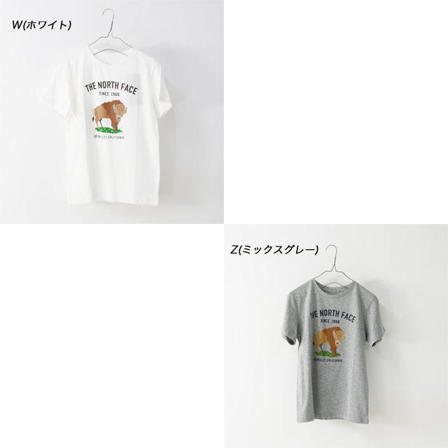 THE NORTH FACE [ザ ノースフェイス正規代理店] Ks S/S Graphic Animal Tee [NTJ32047] Tシャツ(大人の女性も着用可能)・LADY\'S _f0051306_15220627.jpg