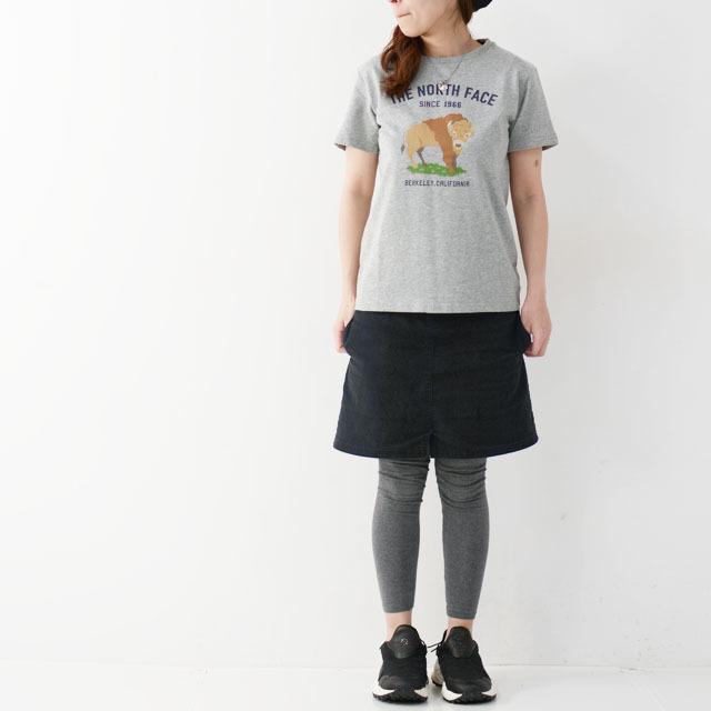THE NORTH FACE [ザ ノースフェイス正規代理店] Ks S/S Graphic Animal Tee [NTJ32047] Tシャツ(大人の女性も着用可能)・LADY\'S _f0051306_15220628.jpg