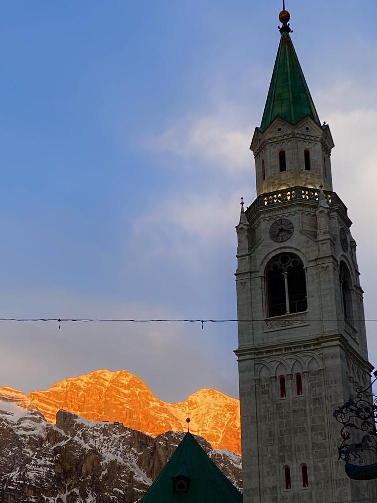 """2020年2月『イタリア・ドロミテ・スキー その2: Enrosadira』 February 2020 \"""" Dolomiti Ski: Enrosadira\""""_c0219616_06542005.jpg"""