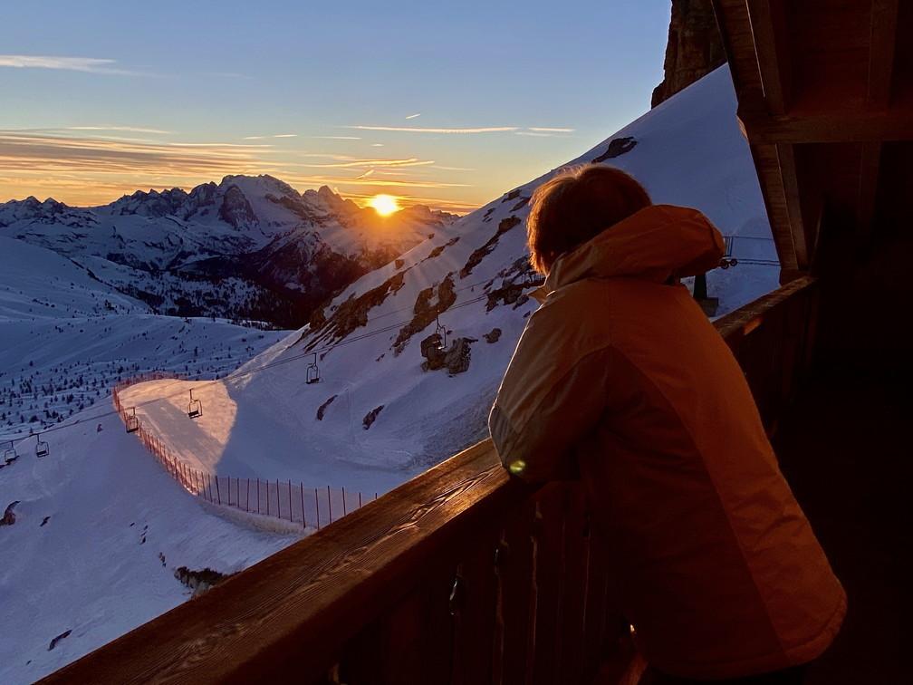 """2020年2月『イタリア・ドロミテ・スキー その2: Enrosadira』 February 2020 \"""" Dolomiti Ski: Enrosadira\""""_c0219616_07022470.jpg"""