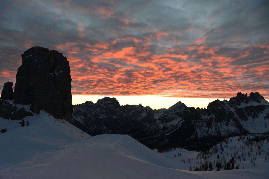 """2020年2月『イタリア・ドロミテ・スキー その2: Enrosadira』 February 2020 \"""" Dolomiti Ski: Enrosadira\""""_c0219616_07055518.jpg"""