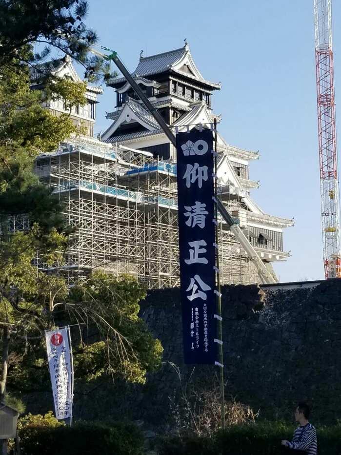 加藤神社からの熊本城_e0184224_10420652.jpg