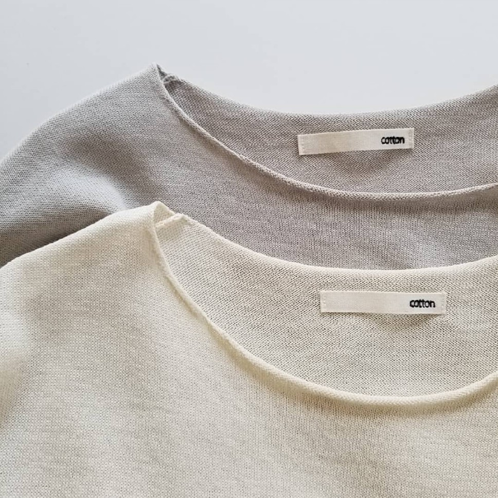 evam evadry cotton pulloverwashable linen V necked pullover_f0120026_08221355.jpg