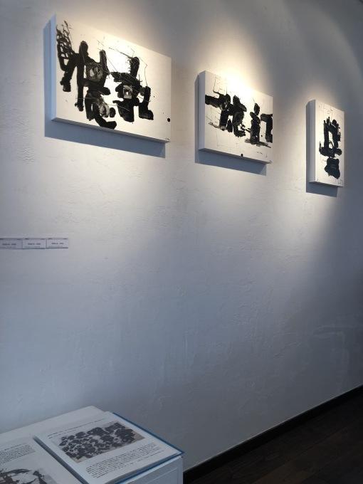 桐健二・桐洋生展 ー 記憶の音と色 ー 初日です_d0347031_14350703.jpg