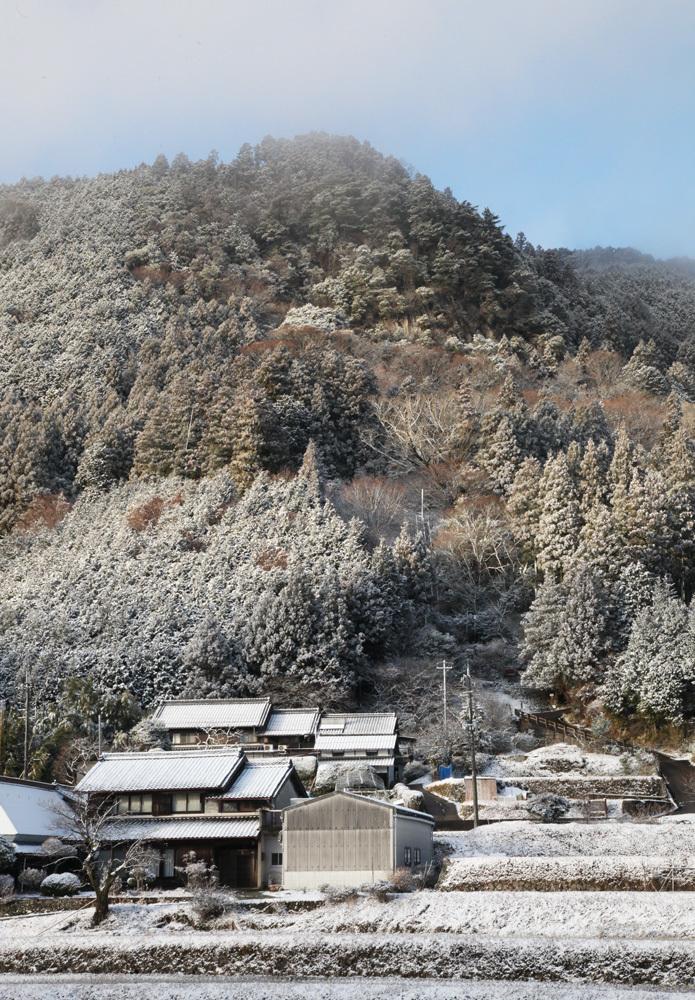 宇陀市 戒場(かいば) 雪景色 2_c0108146_21083531.jpg