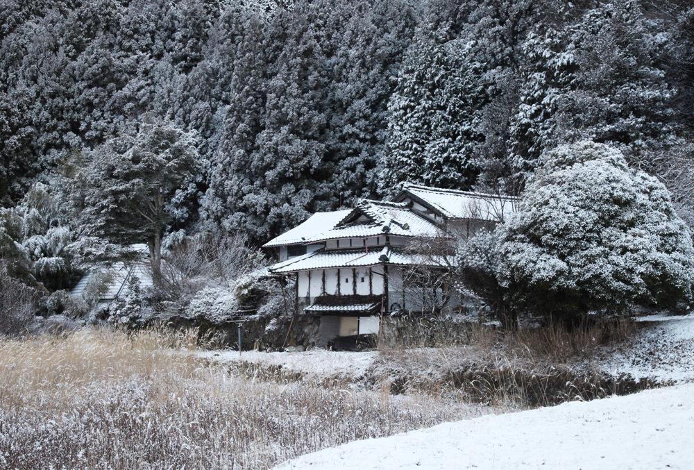 宇陀市 戒場(かいば) 雪景色 2_c0108146_21085194.jpg