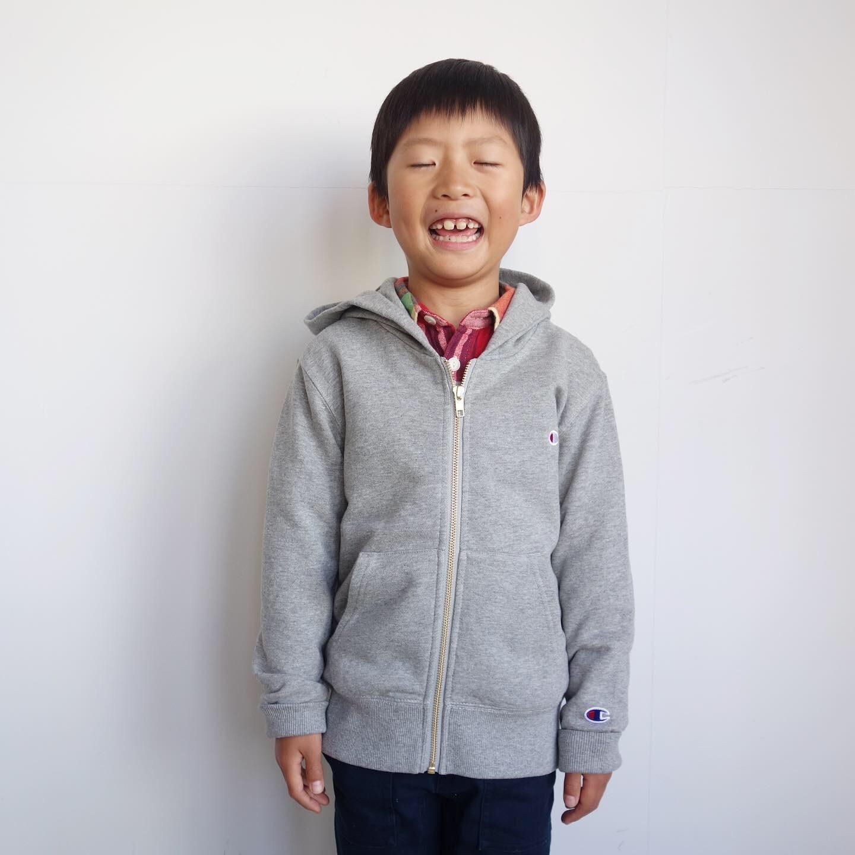Champion kid\'s : ZIP HOODED SWEAT_a0234452_15010541.jpg