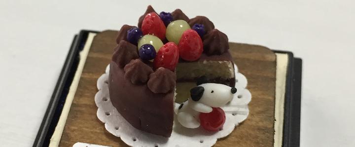 ぼくのごはん_チョコレートケーキ_f0195352_23160949.jpg