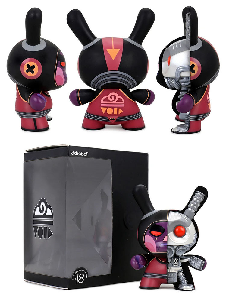 "Void Mecha Half Ray 5"" Dunny by Dirty Robot_e0118156_16424268.jpg"