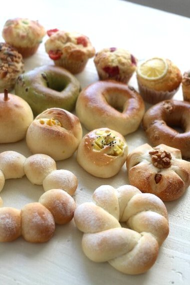 「温度も時間もざっくり!でも失敗しない!日本一適当なパン教室のいちばん簡単-おいしいパン」重版が決まりましました。_f0224568_11050980.jpg
