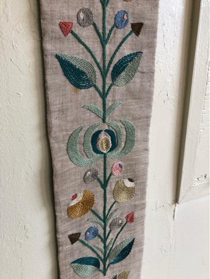 刺繍タペストリー/ DENMARK_c0139773_12200792.jpg