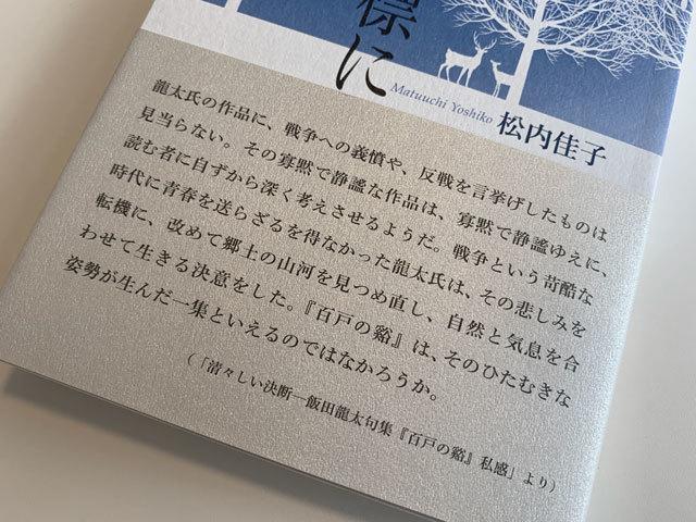 すぐれた飯田龍太論をはじめに……。_f0071480_17450448.jpg