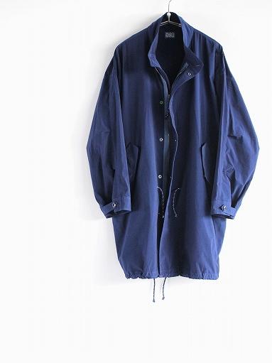 Porter Classic SUPER NYLON STRETCH MILITARY COAT / BLUE_b0139281_2029597.jpg