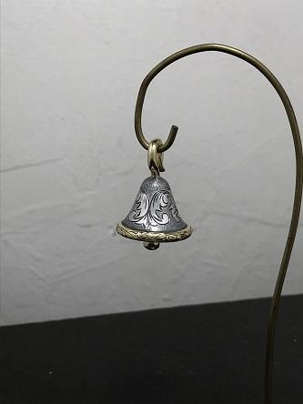 シルバーと真鍮の梵字ベル~!_e0170707_09165081.jpg