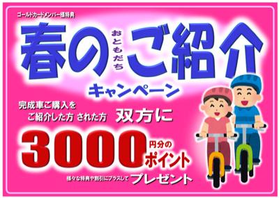 「春のお友達ご紹介キャンペーン」_e0366407_14530329.jpg