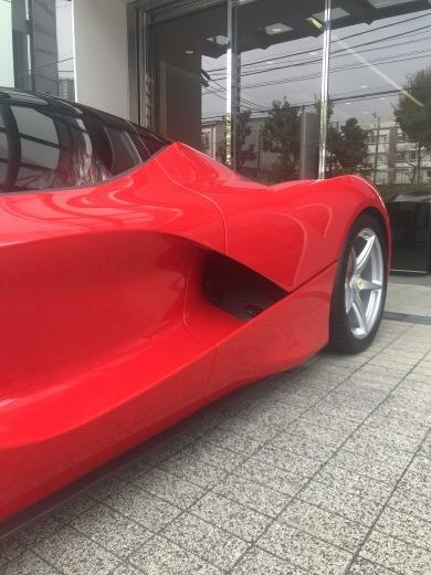 la Ferrari と F40_a0129711_18412635.jpg