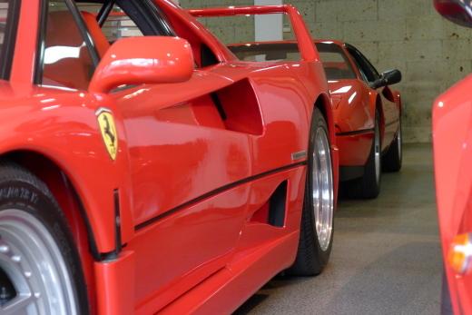la Ferrari と F40_a0129711_18424940.jpg