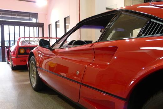 la Ferrari と F40_a0129711_18441232.jpg