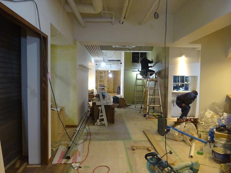 ベアレン醸造所様 駅前新店舗開店工事 工事は終盤です!_f0105112_05221398.jpg