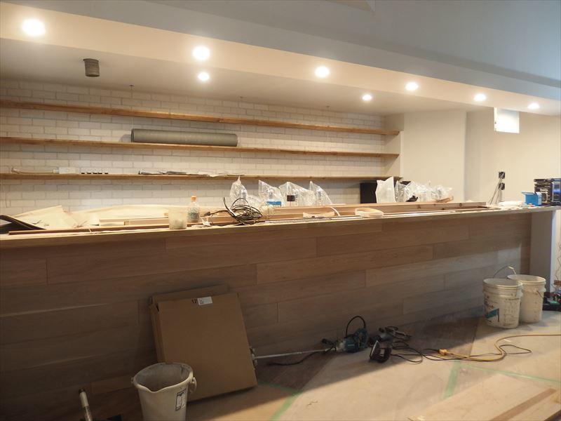 ベアレン醸造所様 駅前新店舗開店工事 工事は終盤です!_f0105112_05272611.jpg