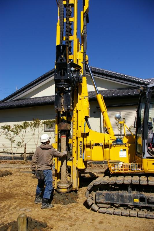 下諏訪町 I様邸 地盤改良工事_e0347716_15174977.jpg