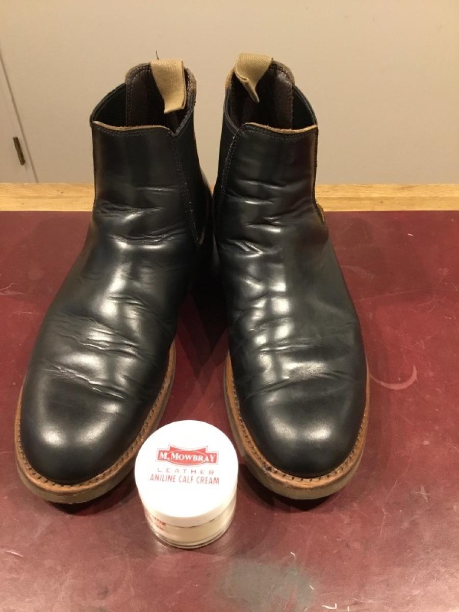 仕事靴を磨く_f0283816_10580478.jpeg