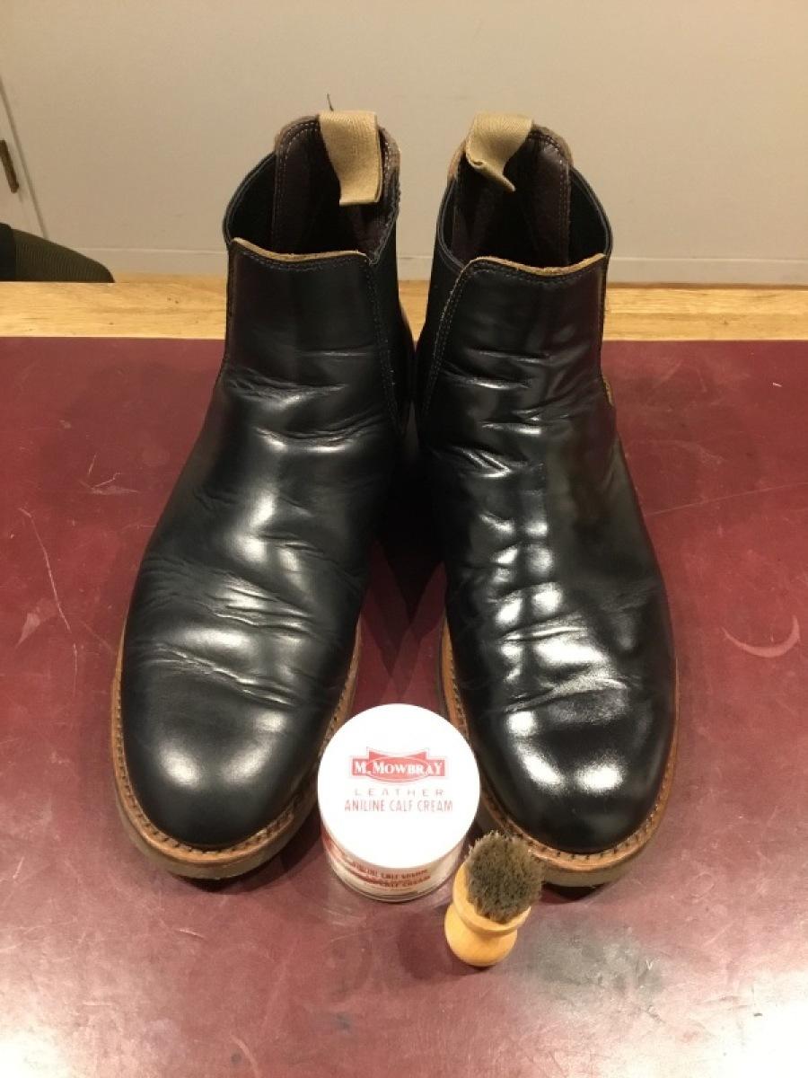 仕事靴を磨く_f0283816_10581381.jpeg