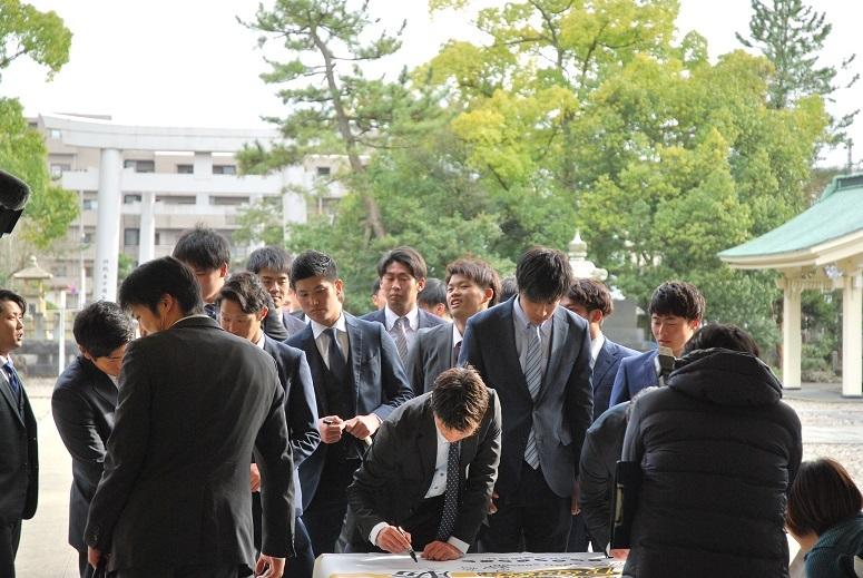 福井ワイルドラプターズ 必勝祈願_f0067122_13005830.jpg