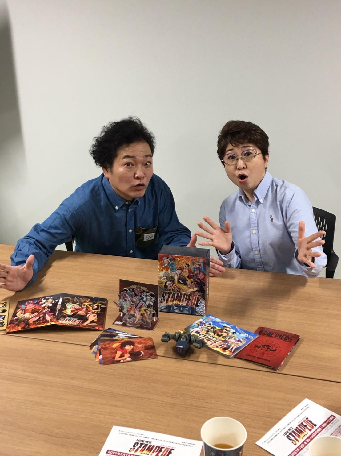 劇場版『ONE PIECE STAMPEDE』Blu-ray & DVD発売記念スペシャルトーク!!_a0163623_21272508.jpg