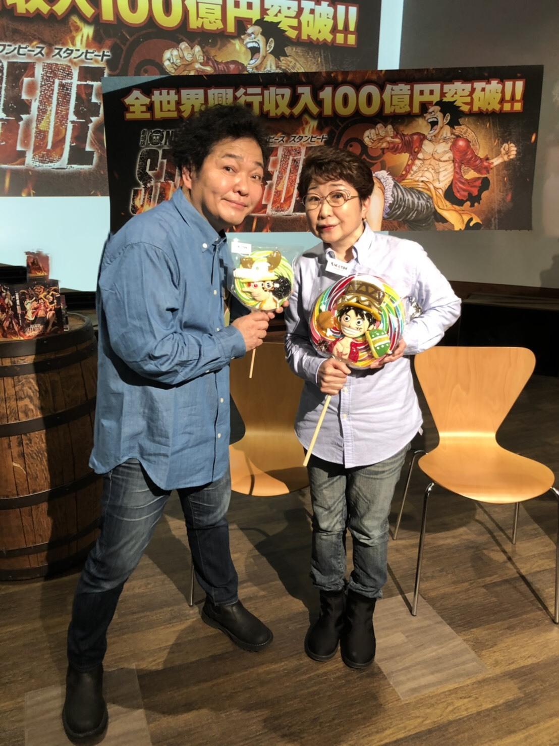 劇場版『ONE PIECE STAMPEDE』Blu-ray & DVD発売記念スペシャルトーク!!_a0163623_21273193.jpg