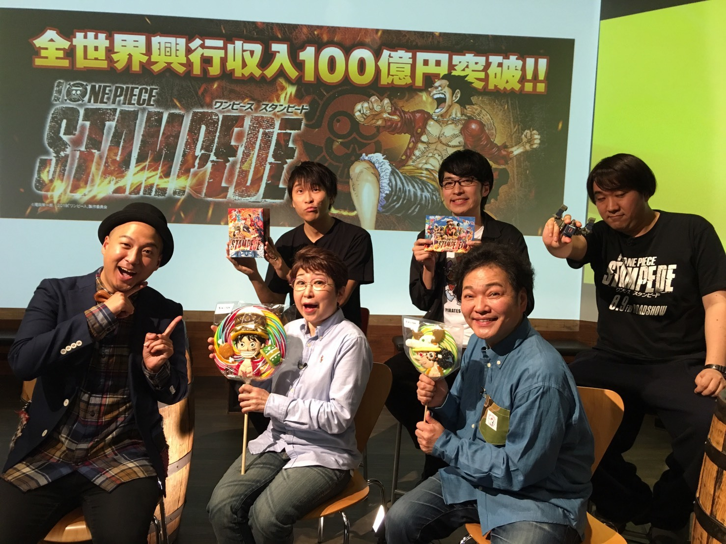 劇場版『ONE PIECE STAMPEDE』Blu-ray & DVD発売記念スペシャルトーク!!_a0163623_21273682.jpg