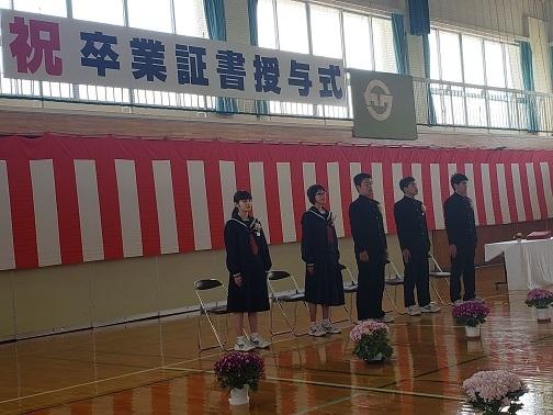 川内中学校卒業式_d0003224_15480430.jpg