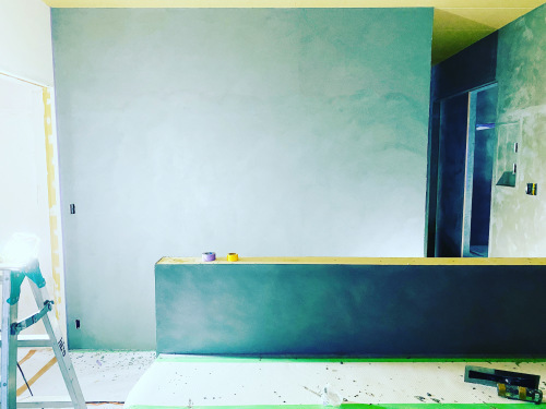 愛知県豊橋市H様 新築住宅工事その6 MORTEX  塗装工事開始!_c0180474_22425296.jpg